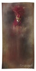 Bath Towel featuring the photograph Burgundy In Venice by Jack Torcello