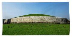 Burial Mound Bath Towel