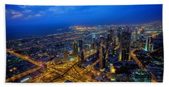Burj Khalifa View Hand Towel