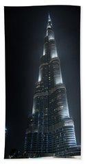 Burj Khalifa Bath Towel