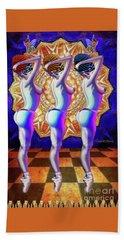 Burlesque Dancers Act One Hand Towel