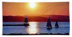 Burlington Breakwater Sunset Hand Towel