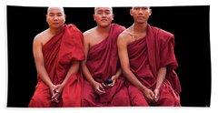 Burma_d1610 Hand Towel by Craig Lovell