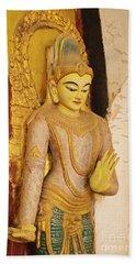 Burma_d2257 Hand Towel by Craig Lovell