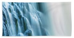 Burney Falls Close Up Hand Towel