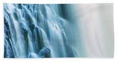 Burney Falls Close Up Bath Towel