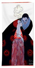 Bath Towel featuring the photograph Burning Desire 1919 by Padre Art