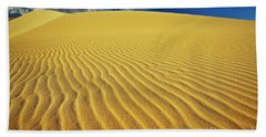 Burning Up At The White Sand Dunes - Mui Ne, Vietnam, Southeast Asia Bath Towel