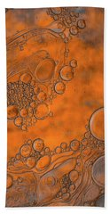 Burnt Bubble Fire Plate Bath Towel