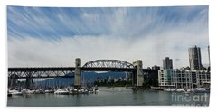 Burrard Street Bridge Bath Towel
