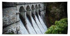 Burrator Reservoir Dam Bath Towel
