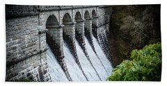 Burrator Reservoir Dam Hand Towel