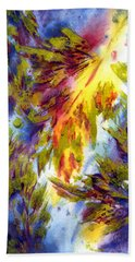 Burst Of Fall Hand Towel