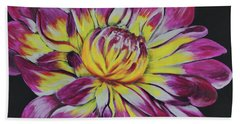 Bursting Bloom Bath Towel