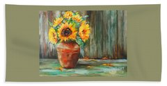 Bursts Of Sunshine Bath Towel