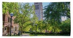 Burton Memorial Tower 1 University Of Michigan  Bath Towel