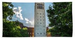 Burton Memorial Tower 2 University Of Michigan  Hand Towel