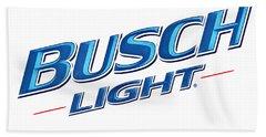 Busch Light Bath Towel
