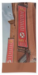 Busch Stadium - Cardinals Baseball Bath Towel