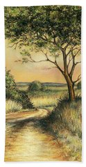 Bushveld Bath Towel by Heidi Kriel