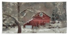 Butter Lane Hand Towel by Trish Tritz