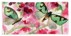 Butterflies Hand Towel