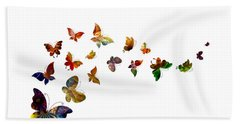 Butterflies Bath Towel
