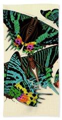 Butterflies, Plate-7 Hand Towel