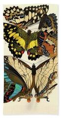 Butterflies, Plate-9  Hand Towel