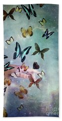 Butterflies Reborn Bath Towel