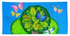 Butterflies Refuge Hand Towel