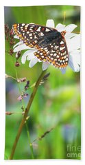 Butterfly Bath Towel by Ansel Price