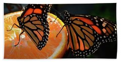 Butterfly Attraction Bath Towel