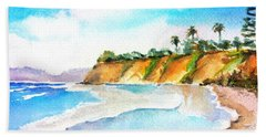 Butterfly Beach Santa Barbara Hand Towel