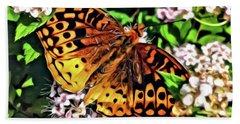 Butterfly Beauty Bath Towel