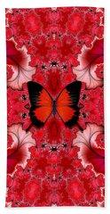 Butterfly Dream Phone Case Hand Towel by Lea Wiggins