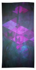 Hand Towel featuring the digital art Butterfly Dreams by Mimulux patricia no No