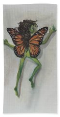 Butterfly Fairy Bath Towel