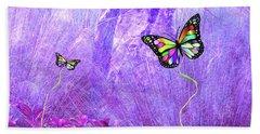 Butterfly Fantasy Bath Towel