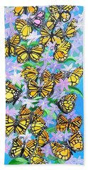 Butterfly Paradise Hand Towel