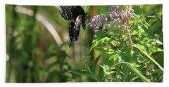 Butterfly In The Sun Bath Towel