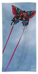 Butterfly Kite 3 Hand Towel