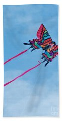 Butterfly Kite Hand Towel
