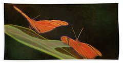 Butterfly Love 1a Bath Towel