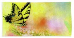 Butterfly Love Bath Towel