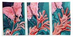 Butterfly Metamorphis Bath Towel