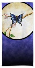 Butterfly Moon Bath Towel
