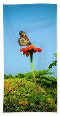 Butterfly Perch Hand Towel