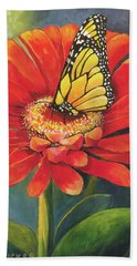 Butterfly Rest Hand Towel