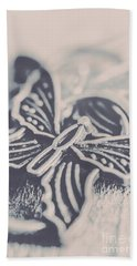 Butterfly Shaped Charm Hand Towel